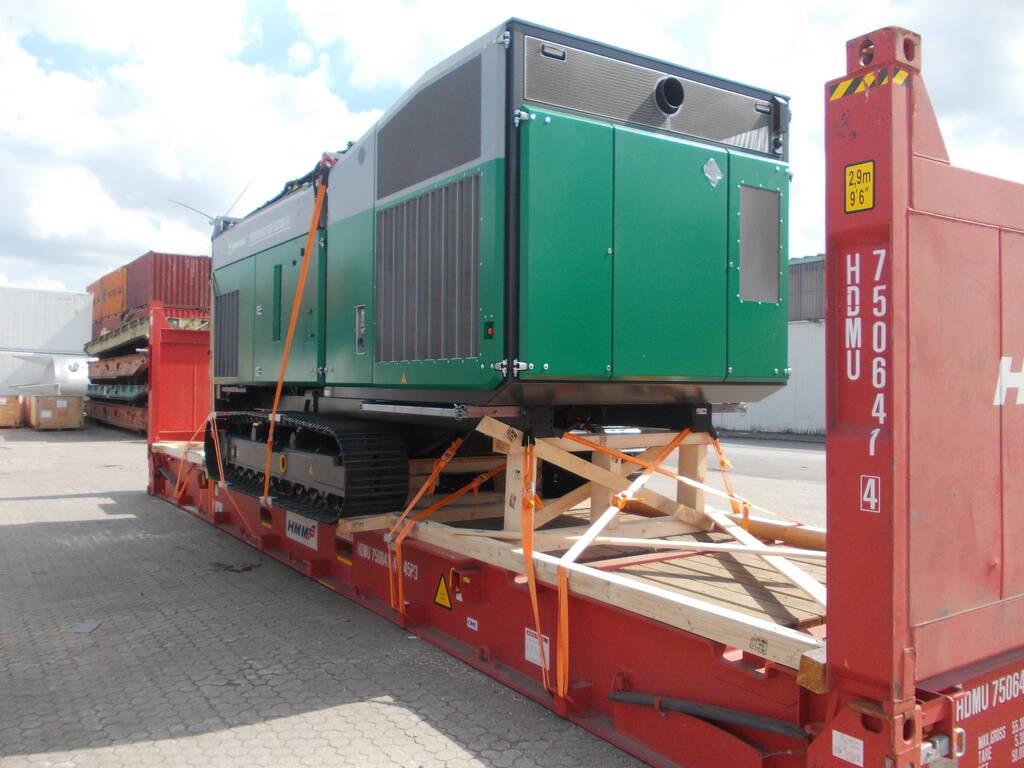 Containerstau 4