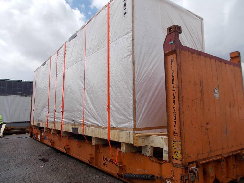 Containerstau 5